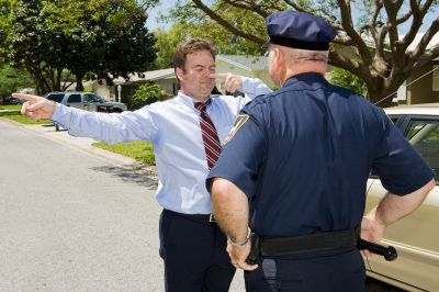Field Sobriety DUI Test